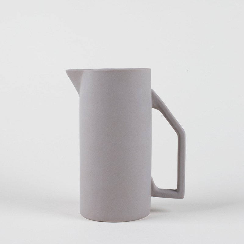 1.5L Ceramic Pitcher - Gray