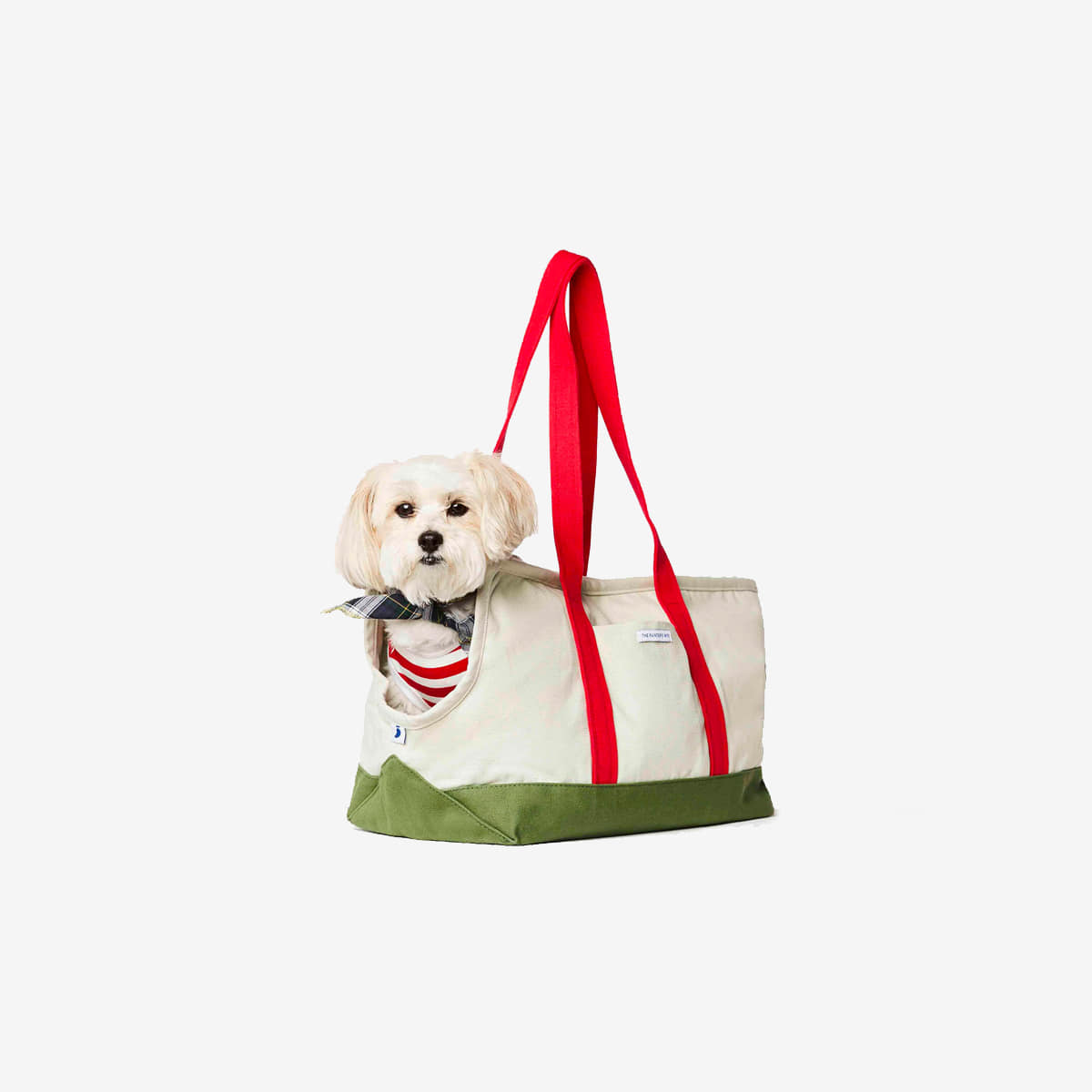 DOG CARRIER CONSTANTIN_ GREEN / RED