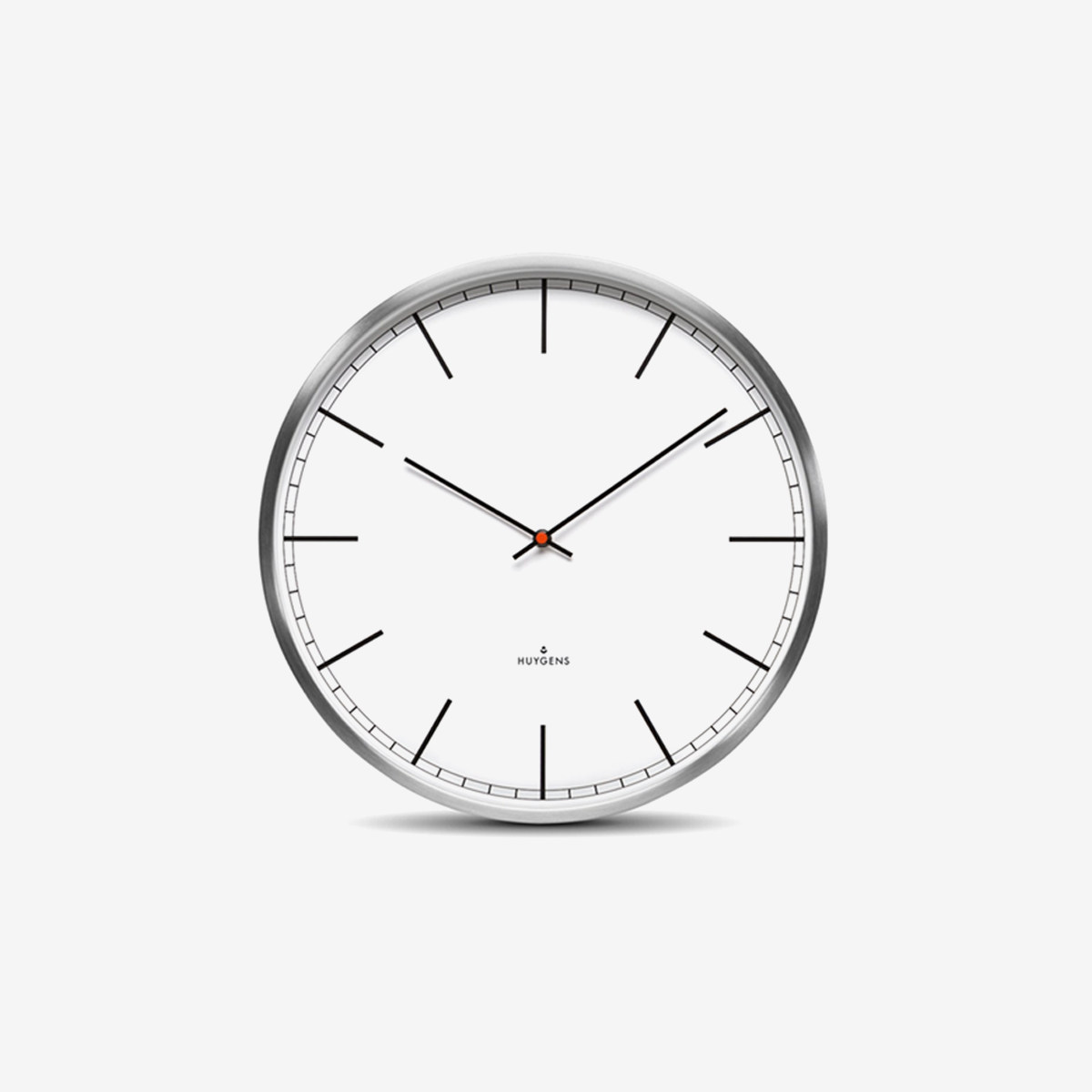 Wall One Index Clock 45cm_ White