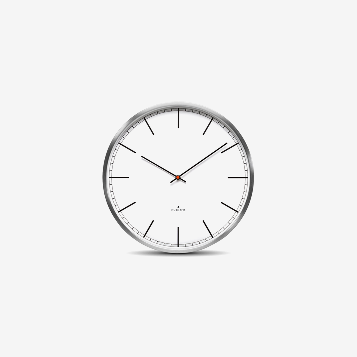 Wall One Index Clock 35cm_ White