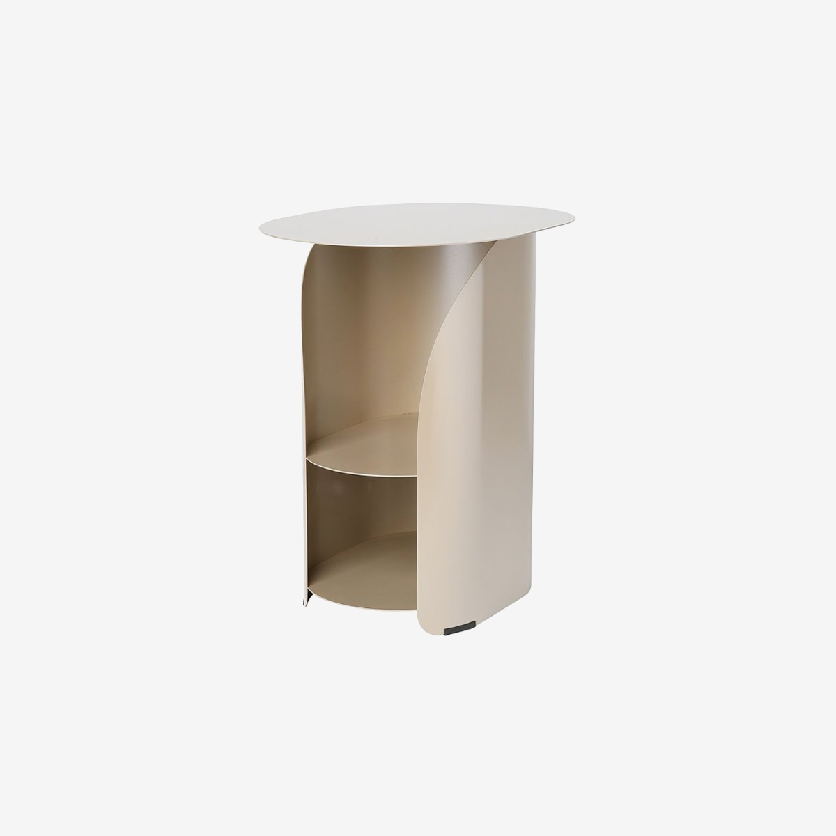 Curve Side Table_Champagne Gold