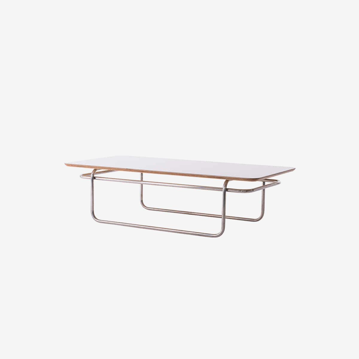 플러스탠 LINEA SOFA TABLE WHITE