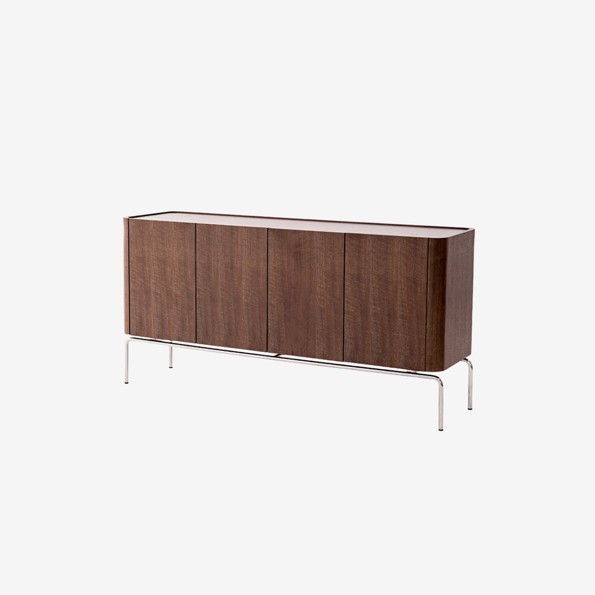 플러스탠 LINEA SIDE BOARD WALNUT 1600