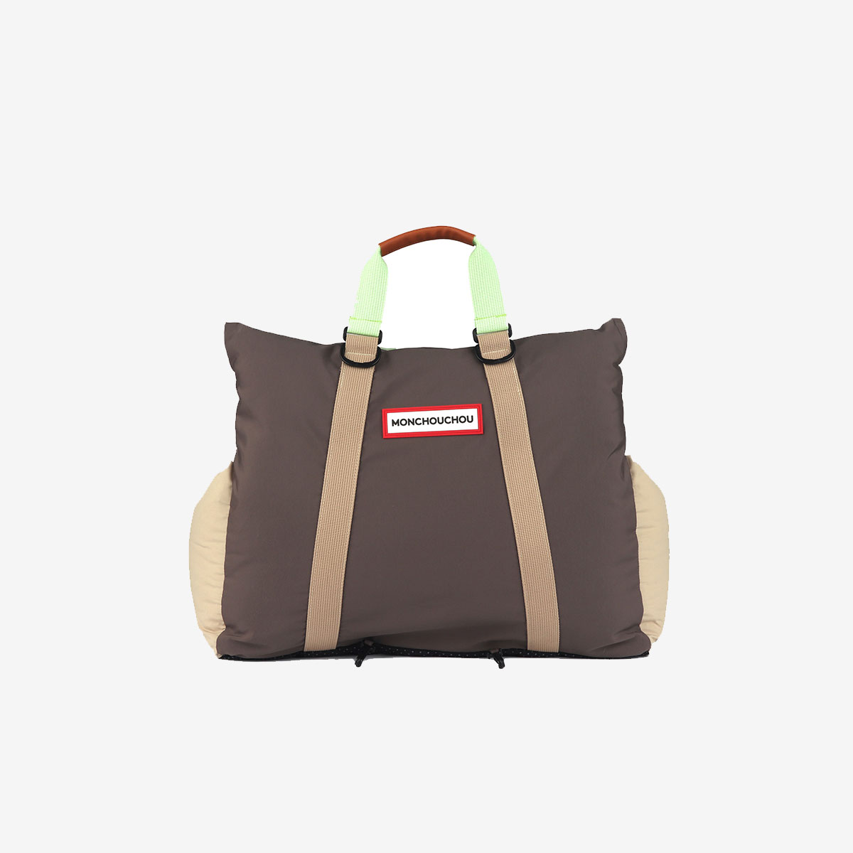몽슈슈 카시트 MONCHOUCHOU 6th Mon Carseat Clay Brown