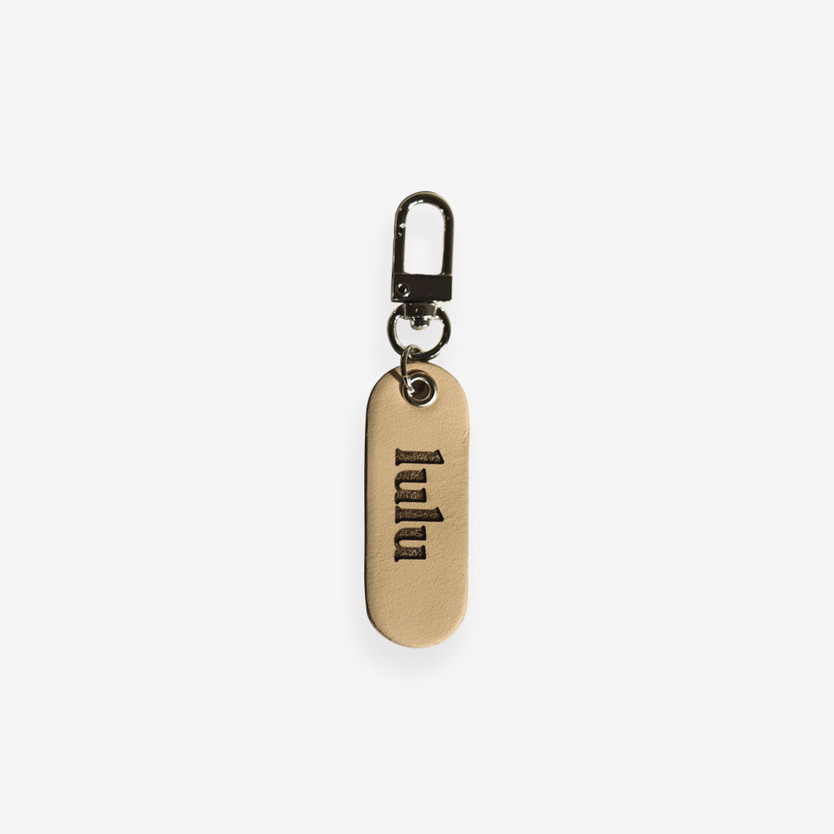 노이오 SIMPLE NAME TAG [BEIGE]