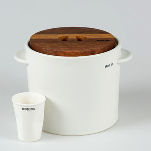 FEED BUCKET- WHITE(WITH CUP)