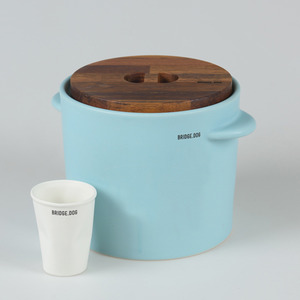 FEED BUCKET - MINT(WITH CUP)