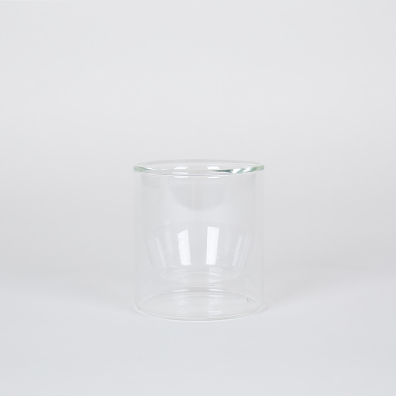 Double-Wall 6OZ Glasses-Set of 2 - Clear