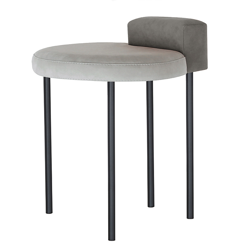 Box Stool _gray