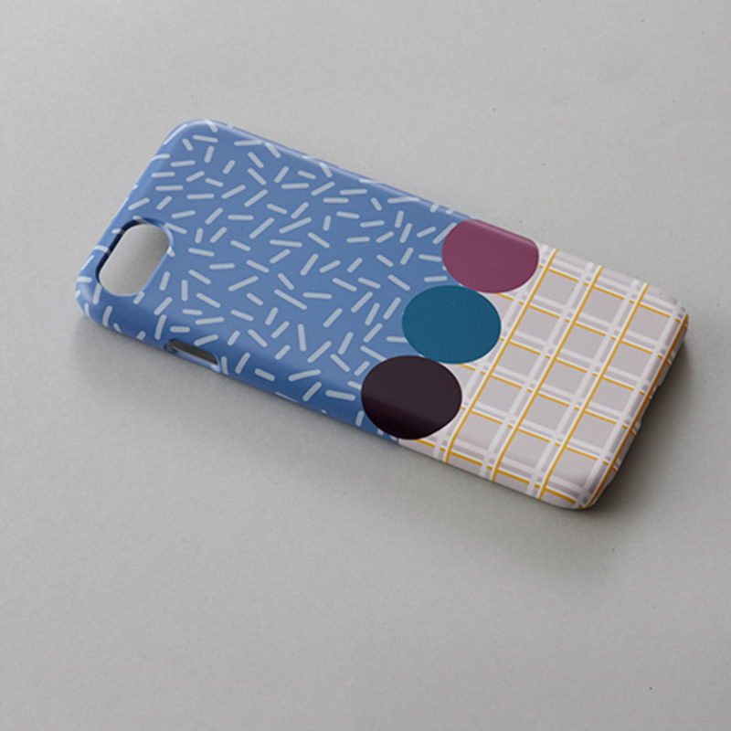 Blue Cheesecake IPhone case