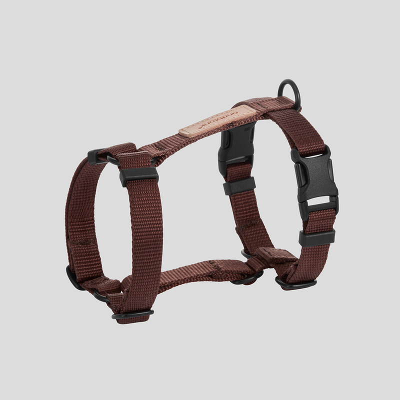 [andblank] harness : brown