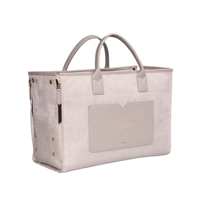 BELLE TOTE [BEIGE BROWN]