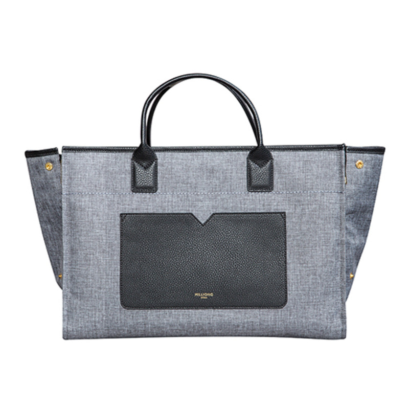 BELLE TOTE [DARK GREY]
