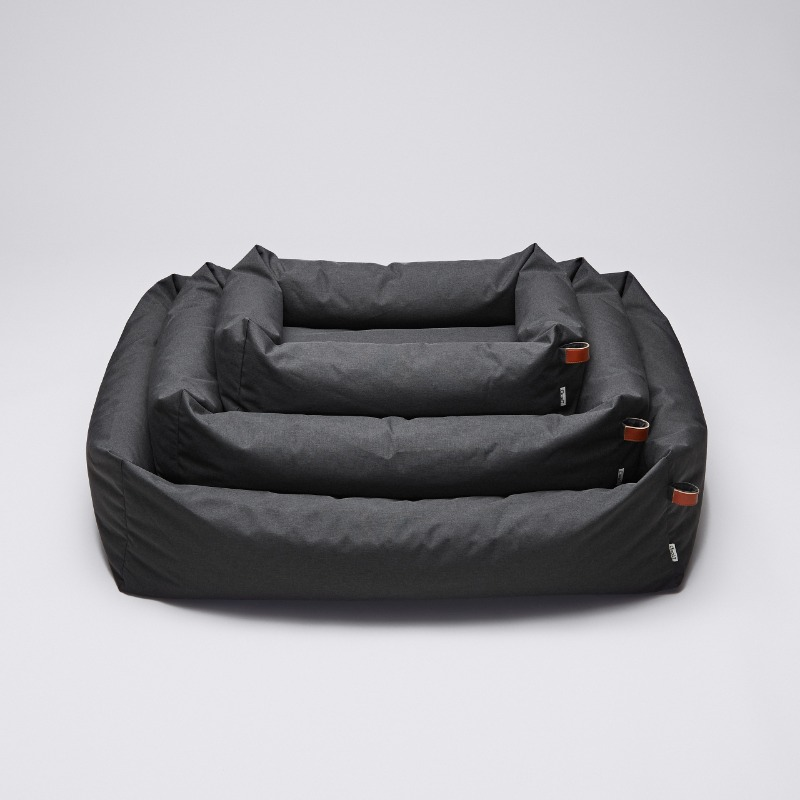 DOG BED SLEEPY GRAPHITE WATER PROOF