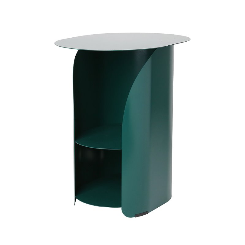 커브사이드테이블 curve side table_evergreen