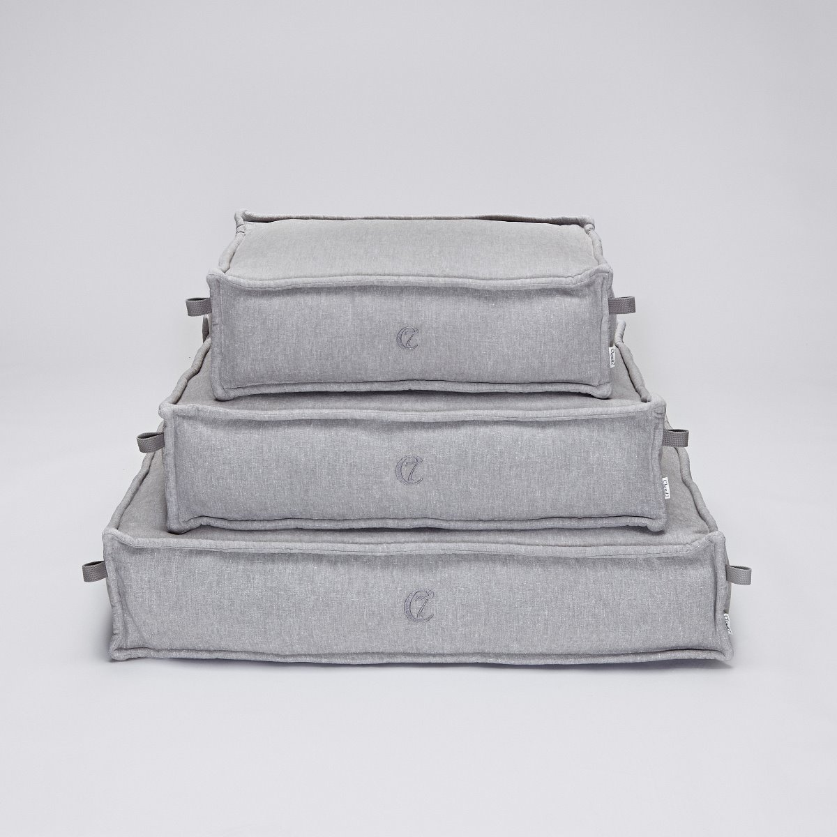 DOG BED COZY LIGHT GREY