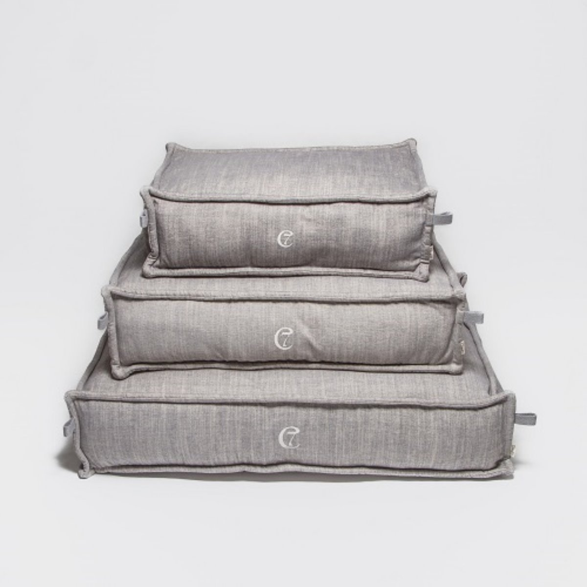 DOG BED COZY MÉLANGE GREY