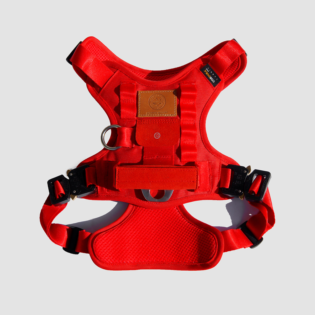 AA19 S/S  MILI-TECH HARNESS (RED)