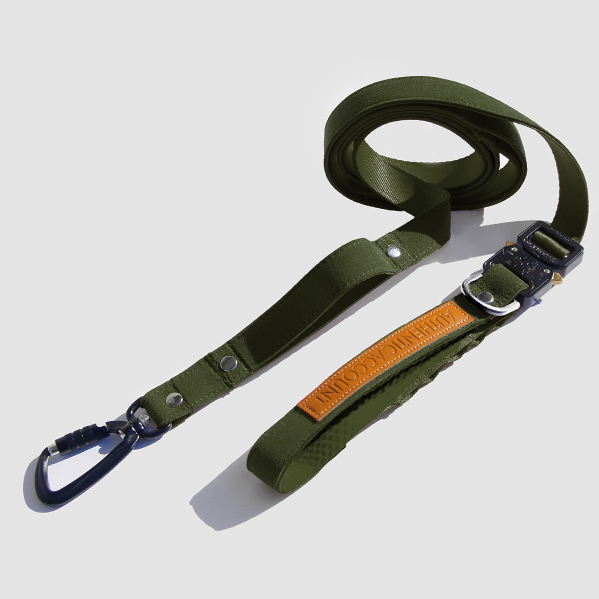 AA19 S/S MILI-TECH LEASH 25MM (KHAKI)