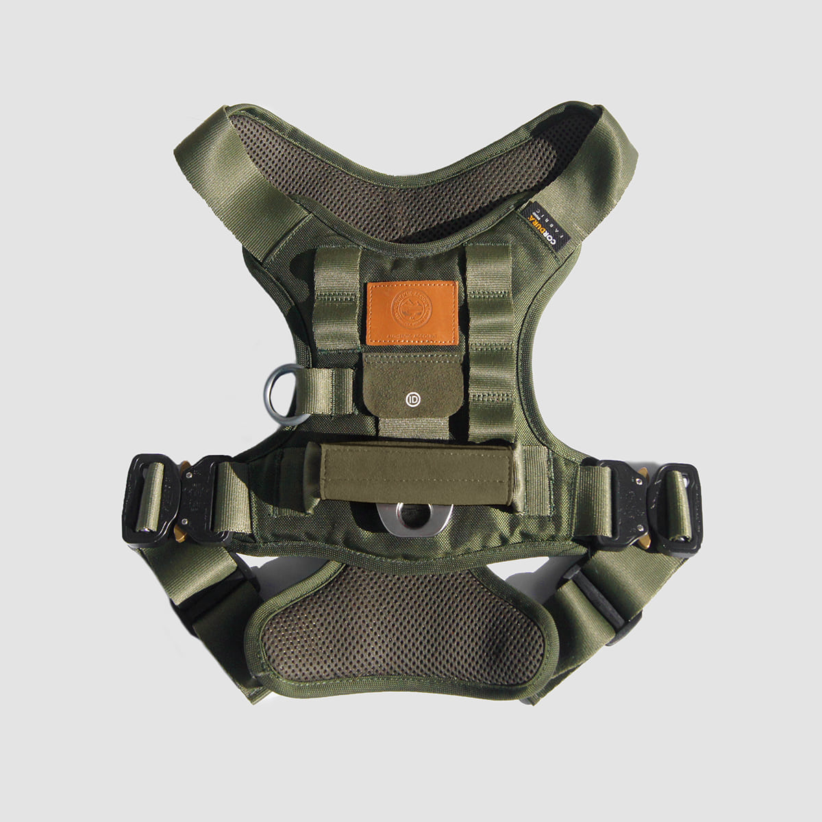 AA19 S/S  MILI-TECH HARNESS (KHAKI)