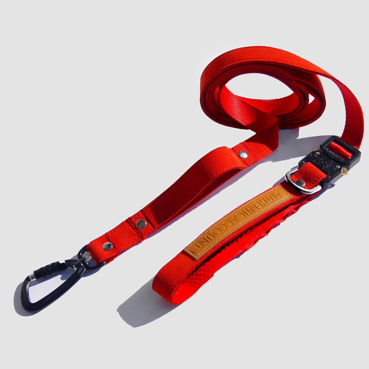 AA19 S/S MILI-TECH LEASH 25MM (RED)