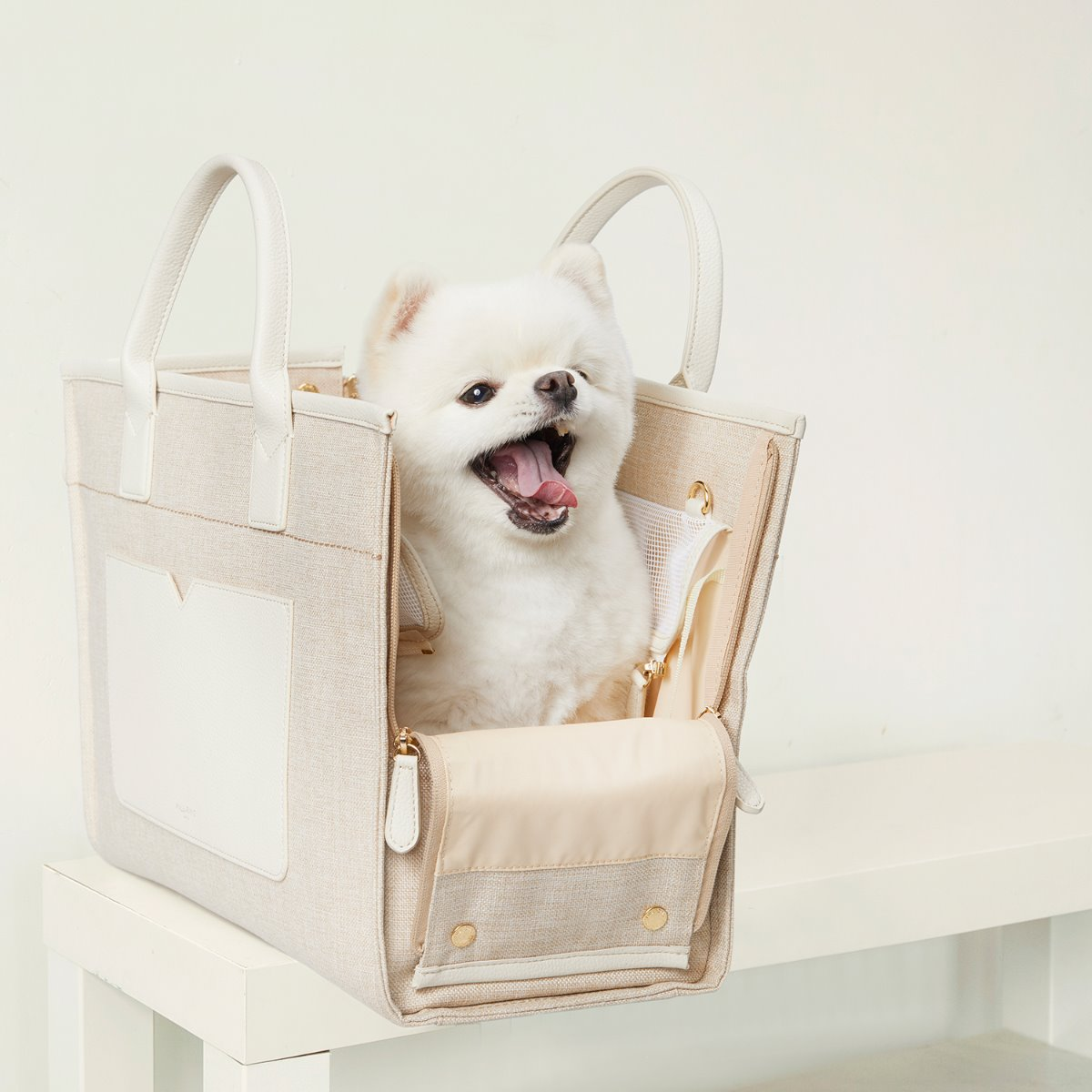 BELLE TOTE [LIGHT BEIGE]
