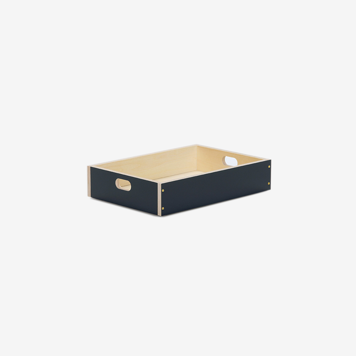 LINDEN BOX (navy / 3size)
