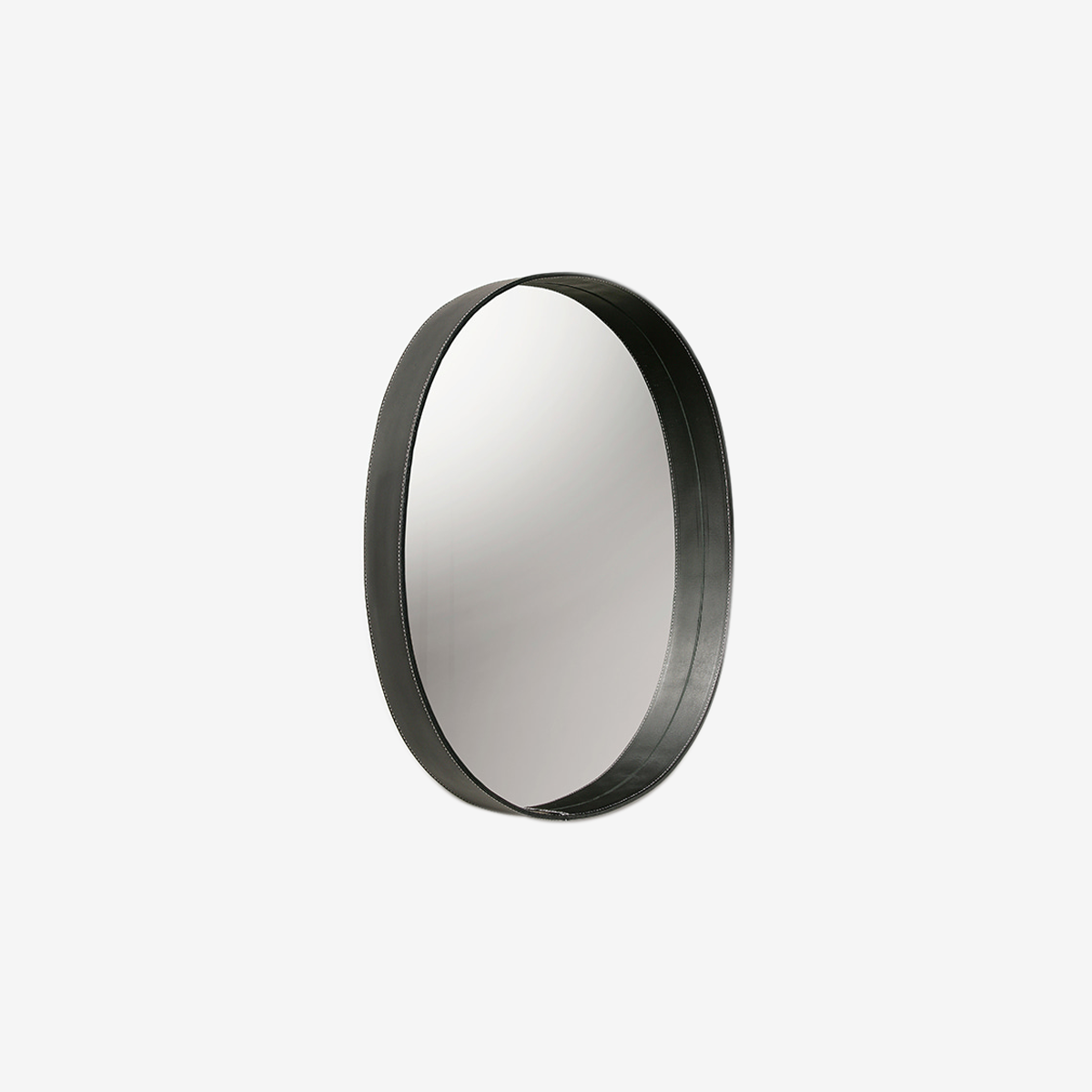 OVAL MIRROR (black)