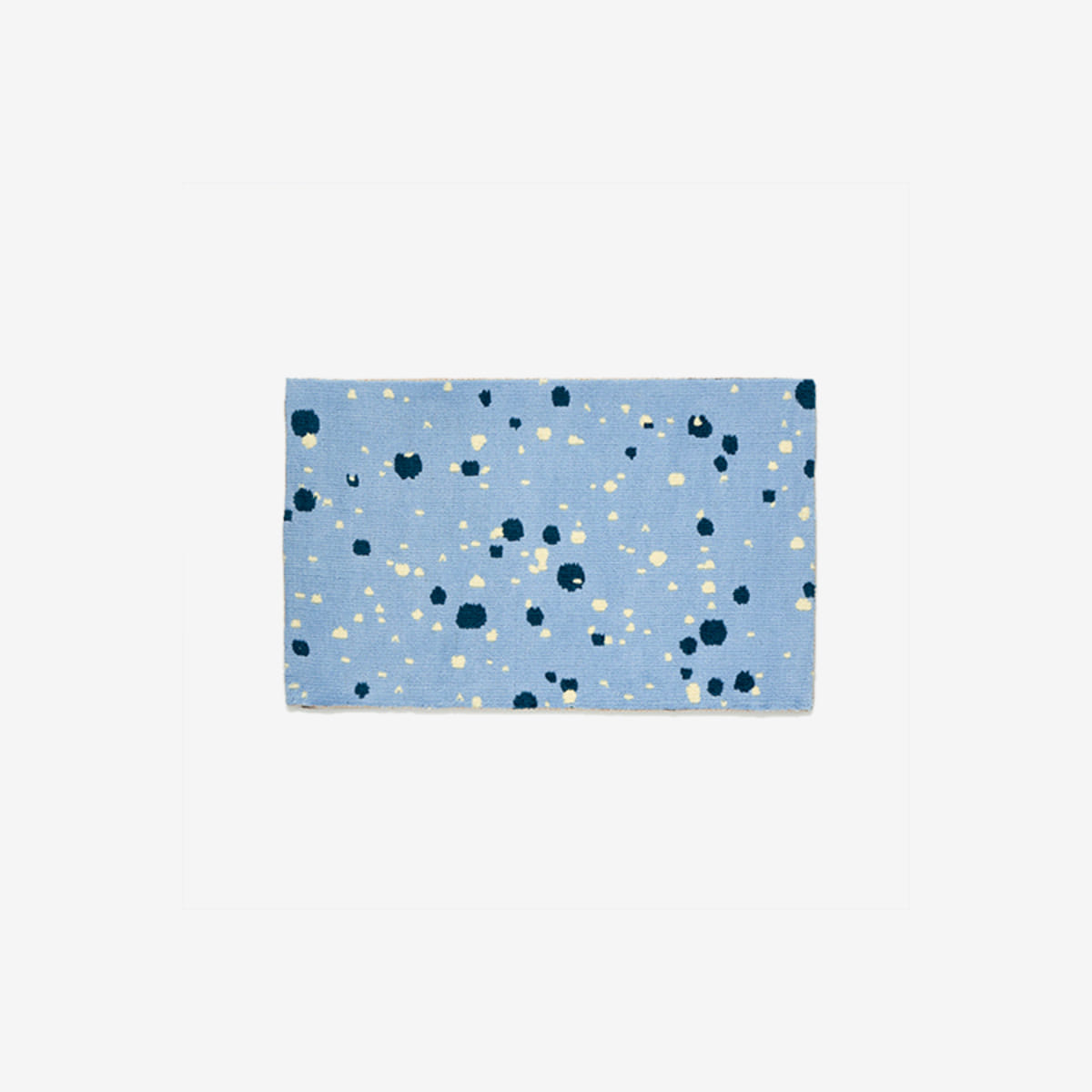 Bloom blue mat