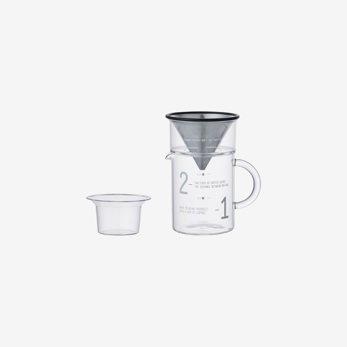 Slow Style Coffee Jug Set 300ml / 600ml