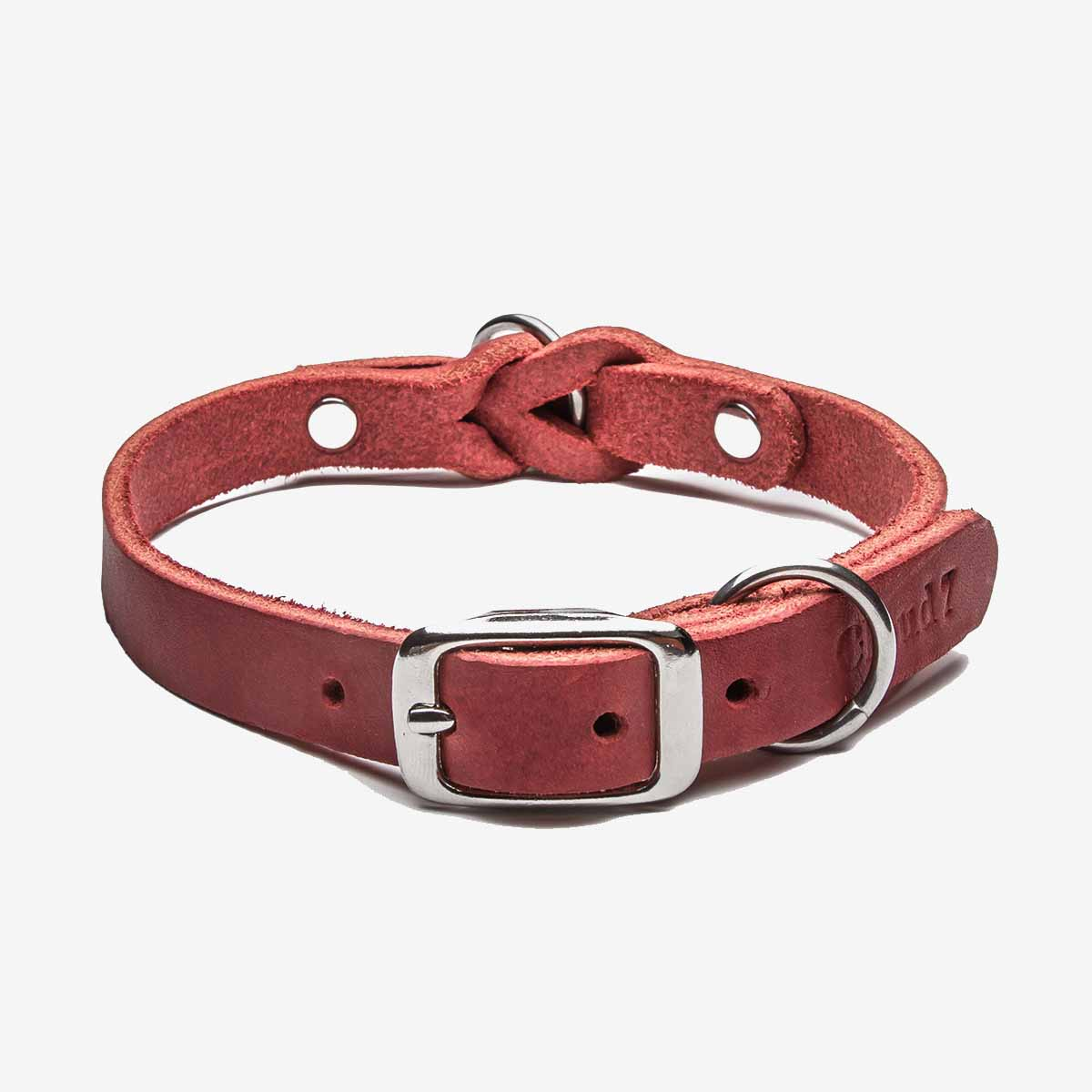 Dog Collar Riverside Park Merlot