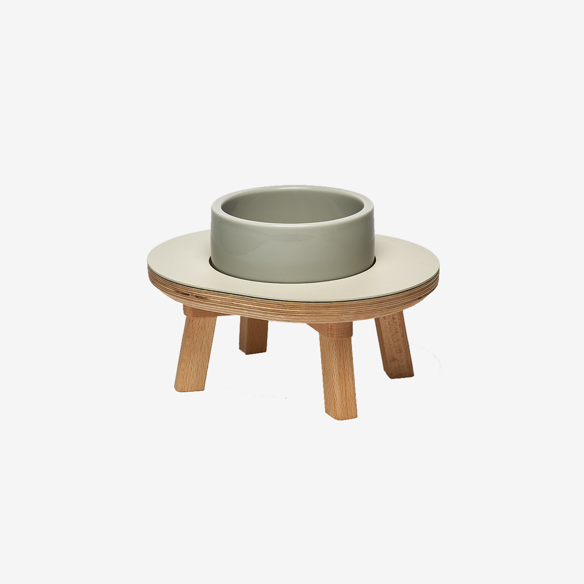 스몰스터프 DINING SET 1P GRAY