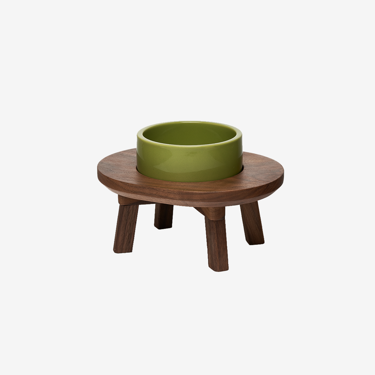 스몰스터프 DINING SET WOOD 1P WALNUT