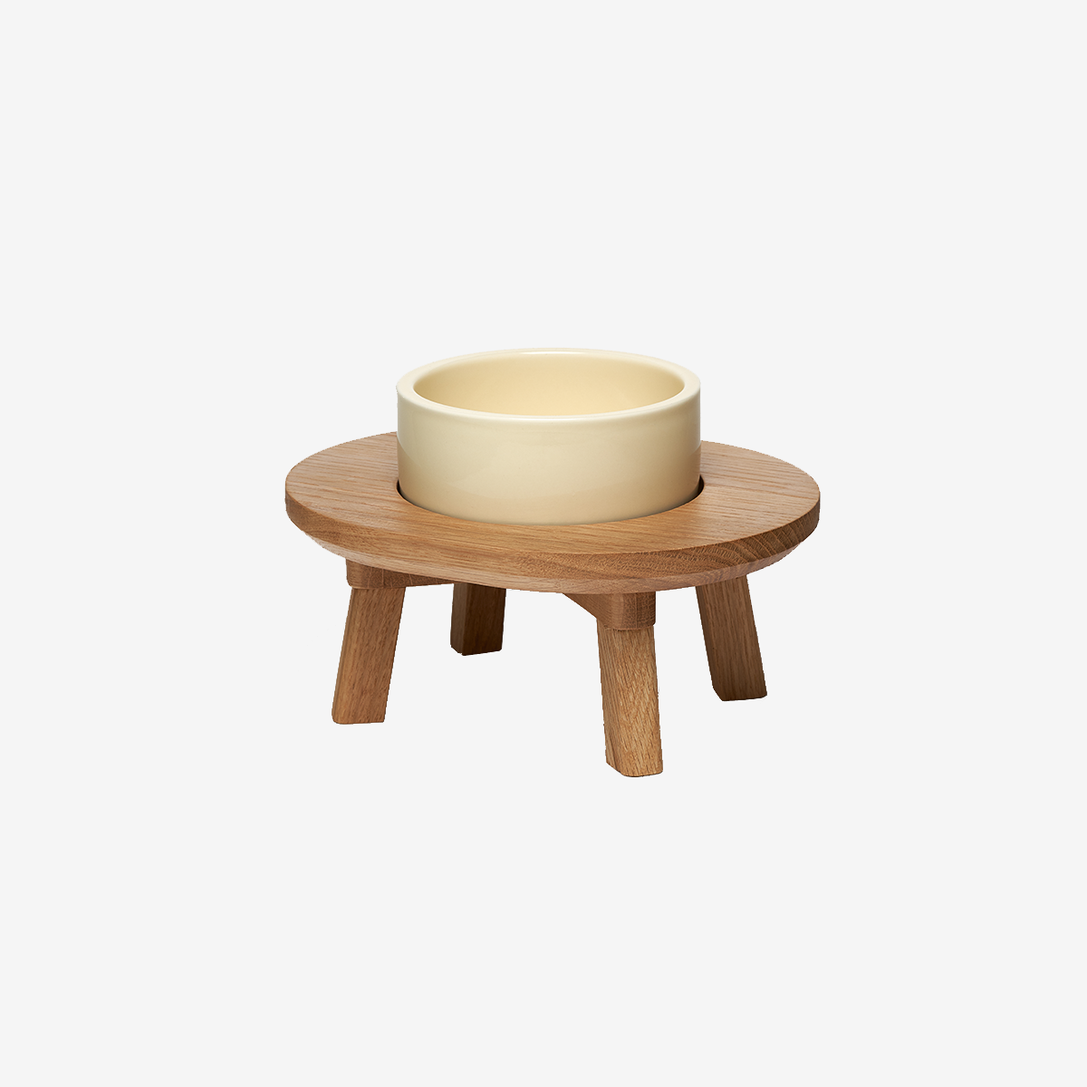 스몰스터프 DINING SET WOOD 1P WHITE OAK