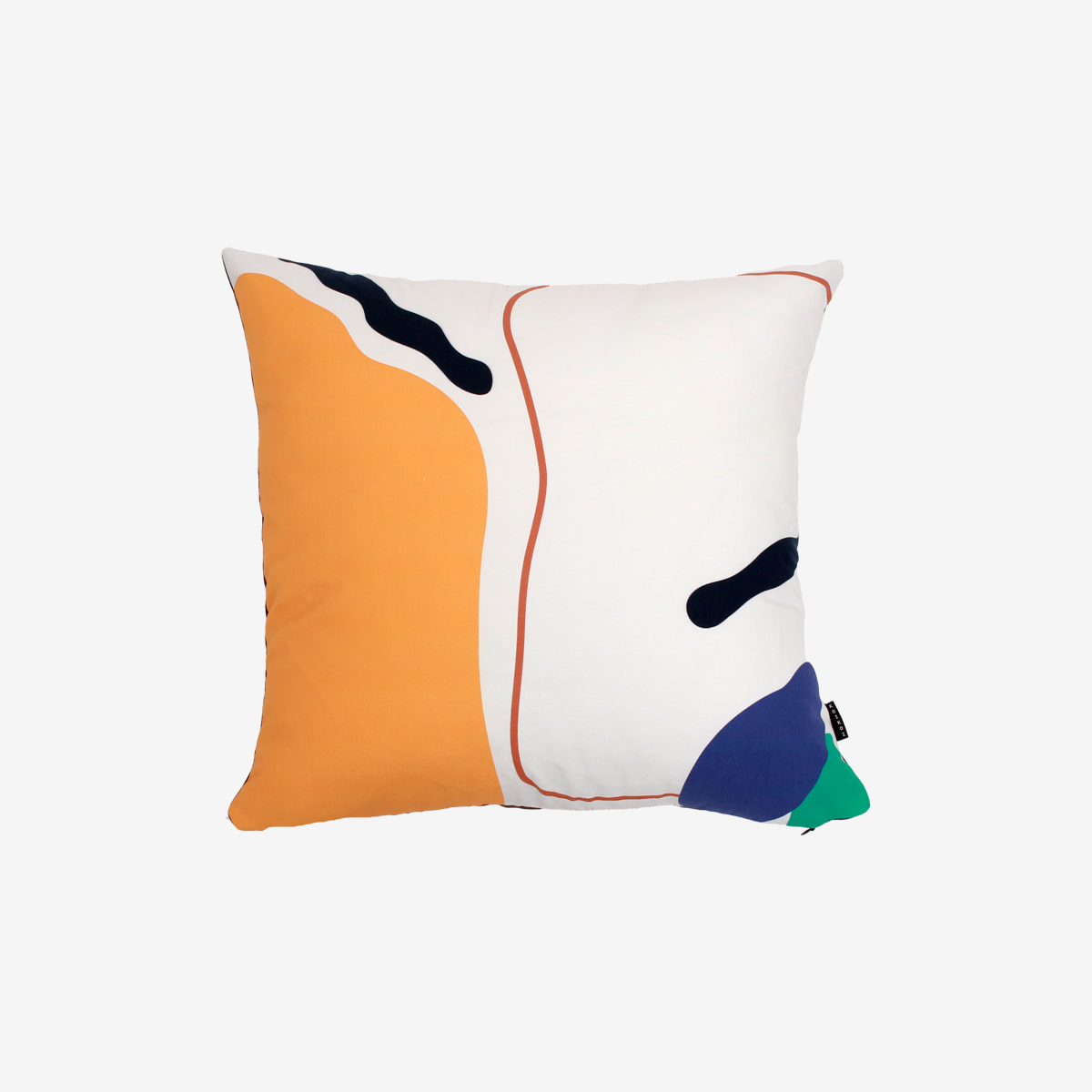 Line and shape cushion