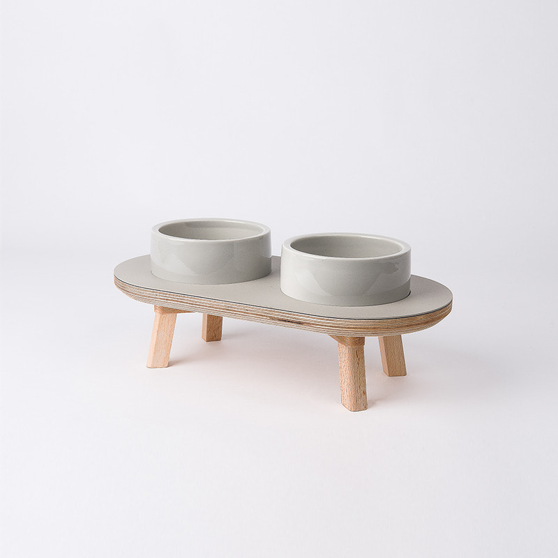 DINING SET GRAY