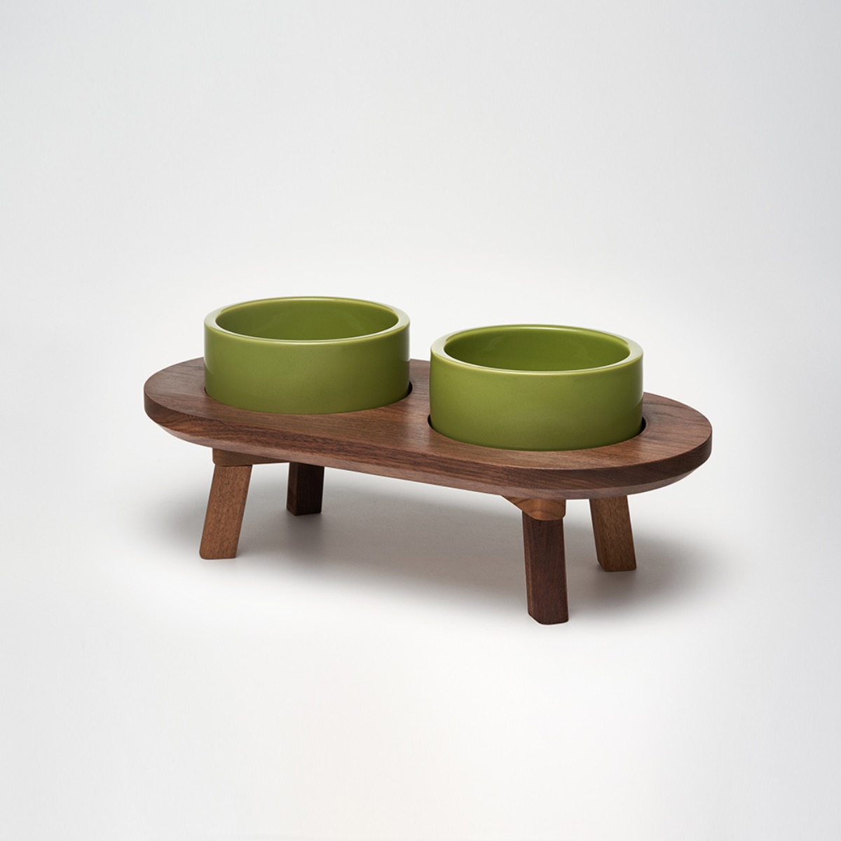 스몰스터프 DINING SET WOOD WALNUT