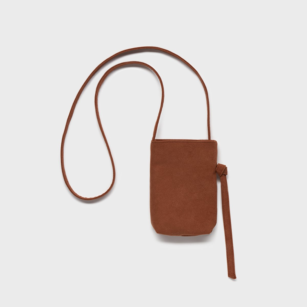 스몰스터프 CROSS POOP BAG BROWN