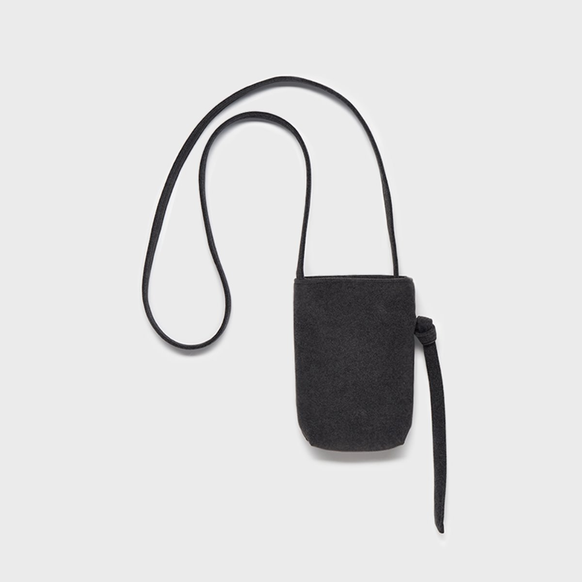스몰스터프 CROSS POOP BAG CHARCOAL